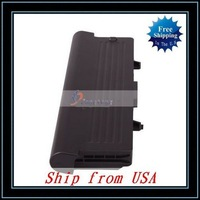 Free Shipping + Wholesale Laptop Battery For DELL Inspiron 1525 1526 1545 GW240 GP952(11.1V 7800mAh)Black Ship from USA-N3422