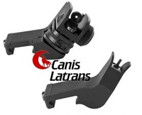 Rapid Transition Sights RTS Offset Front and Rear Sights(RTS-BK)