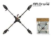 Parrot AR.Drone 2.0 App-Controlled Quadricopter Carbon Fiber Central Cross X