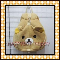 Free Shipping 20pcs Rilakkuma Plush School Bag Backpack Soft bag Plush Toy Hotsale Gift