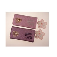 Hello Kitty wallet / Korean version of Hello Kitty short paragraph wallet 027
