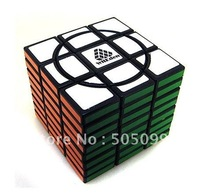 Free shipping WitEden Super Crazy 3x3x8 338 I or II Full Function  Cube Black