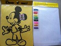 Popular Children's DIY sand art kit, Color Sand painting sets for children
