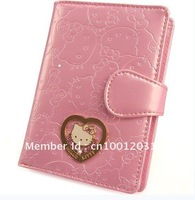 Hello Kitty leather wallet / Hello Kitty two-fold wallet