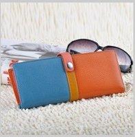 Вечерняя сумка 2013 New Fashion NEW 100% Genuine leather evening bag, clutch/wristlet bag w/ strap, Day clutches Handbags N1209