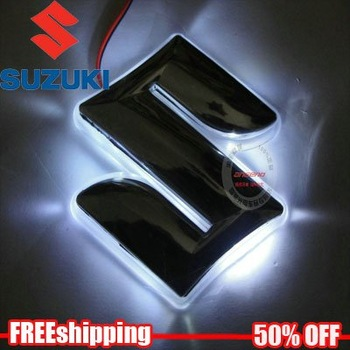 Free shipping Suzuki Swift  LED decorative lamp  car logo light