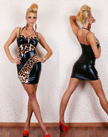 женщин сексуальная элегантный партии вечернее платье без рукавов макси платье в черный цвет