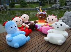 FACTORY SUPPLY WHIOLESALE AND RETAILS IN THE NIGHT GARDEN &KIDS STUFFED ANIMAL SOFA KIDS CHAIR(China (Mainland))