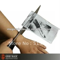 Knife Thru Arm - Imported  ,close-up magic tricks online,Christmas wholesale magic store China