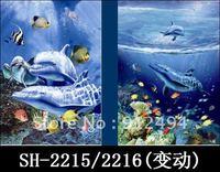 HD 6pcs/lot & Free shipping 3D lenticular  poster