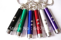 LED mini Flashlight mini torch with red light for speaching and teaching multi-use 100pcs/lot free shipping