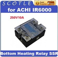 Freeshipping ACHI IR-6000 Bottom Heating Relay SSR