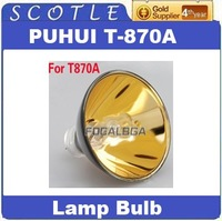 Freeshipping Replacement PUHUI T-870A T870A Lamp Bulb