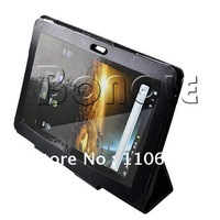 Holiday Sale! New Black Leather Case Cover Protector For Samsung Galaxy Tab P7510/P7500 Tablet