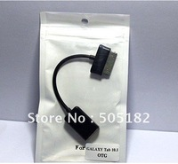 USB CONNECTION 30Pin to USB Female KIT OTG HOST Cable FOR SAMSUNG GALAXY TAB 10.1 P7500/ P7510 for Flash Disk+free shipping