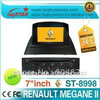 wholesale Renault Megane 2 car dvd gps Navi+radio/bluetooth/ipod/steering/RDS/PIP..