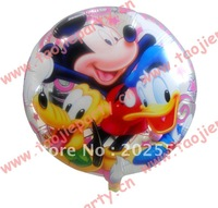 Free shipping 50 pcs/Lot 18 inches foil balloon ,Cartoon design foil balloons helium balloon