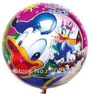Free shipping 50 pcs/Lot 18 inches foil balloon ,cartoon designs