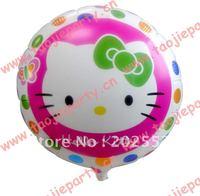 Free shipping 50 pcs/Lot foil balloon ,KT design designs