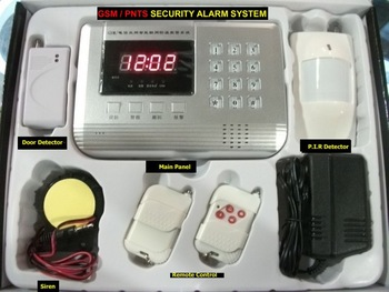 NEW 99 zone Wireless GSM/PNTS/SMS/Call Autodial Voice Home Security Alarm System