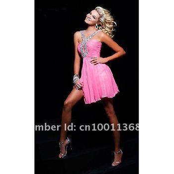 2012Short Halter Dress by Alisha Hill A77209