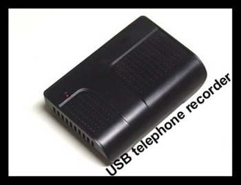USB interface 1 line digital telephone recorder caller id display function clients management