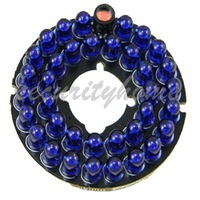 36 Blue Leds Infrared IR 5mm 90 Degrees Board 850nm for Security CCTV Camera