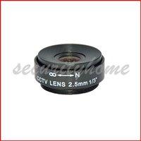 F1.2 2.5mm CS Fixed CCTV Lens for Surveillance CCTV Camera