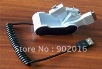 10pcs/lot free shipping Portable 4 in 1 USB charger data cable for iPad/Nokia