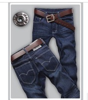 Free shipping!!! High quality 2012 fashion jeans,slim men jeans pants,factory  Limited supply,Size 28-36 A real buy
