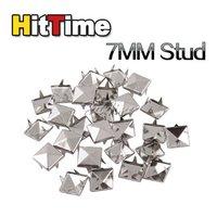 Клепки для одежды 10Pcs 7mm Silver Cone Spike Rivet Screwback Studs Goth Punk Leather DIY Craft [24992|01|01