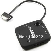 OTG USB 2.0 Hub Card Reader Connection Kit for Samsung Galaxy Tab P7500 P7510 P7300 P7310 P6800, 100pcs/lot, DHL Free Shipping