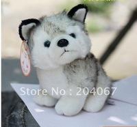 30cm size plush stuffed aniaml doll HUSKY plush toys 4pcs/lot free shipping