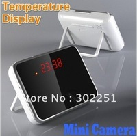 Multi-Functional Table Clock Hidden Camera video recorder digital camcorder Motion Detection Cam