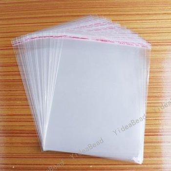 200pcs Hot Sale Clear Jewellery Packaging Plastic Bags 15x20cm 120337