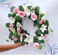 5pcs/lot Free shipping 180cm Rose lily flower vine,Wedding decoration rattan,house decoration