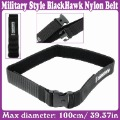 Military Style Durable Rigid Nylon Webbing Belt w/ ABS Buckle Free Sz_Free Shipping