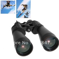 Practical 10X-380x100 Zoom Black Coated Telescope with Carrying Bag for Outdoor Activities - Black