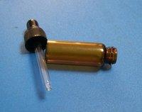 10 PCS NEW AMBER GLASS EYE DROPPER BOTTLE/VIALS (5ml) ESSENTIAL OIL BOTTLE