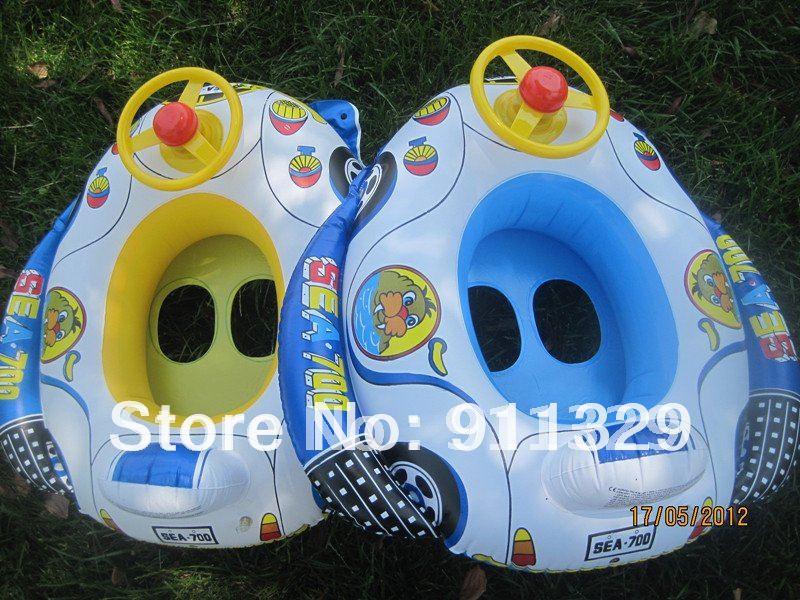 Baby toy Toddler Water Pool Swim Ring Seat Float Boat Swimming Aid Tube Wheel Toy Free shipping,1 pcs(China (Mainlan