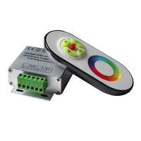 RF RGB Touch Screen Remote Controller DC12/24V, led dimmer controller wireless