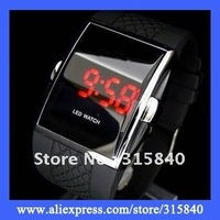 1pc New 2014 Fashion LED Watch Sports Display Watches Fashion Men Watch Digital Electronic Watches -- WH01 Wholesale