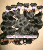 "super soft brazilian remy human hair weave,12""-28"",tangle free"