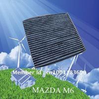 CUK2043 wholesale car black carbon air filter for Mazda EG21-61-P11 auto part 21.5*19.5*2.5cm WIX24579