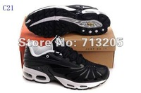 Free Shipping Wholesale 2012 New TN Men's Running Sport Fashion sneaker High quality comfortable shoes C21 Size 41-46  Mix order