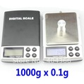 Wholesale Mini 1000g x 0.1 Gram Digital Pocket Scale /Jewelry Scale /electronic scale 50pcs/lot + DHL Free shipping