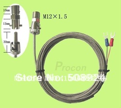 Thermocouple K Type Bayonet Mount 3M (3.3')(China (Mainland))