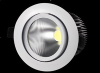 2012 new !!! 16W COB led downlight AC100-240V