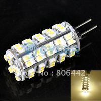 Free Shipping DC 12V G4 LED Bulb 4W 350-Lumen SMD 3528 68LED Warm White Light Bulb 3500K