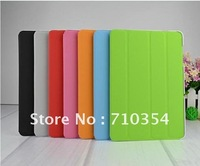 "Free Shipping leather case stand Smart slim cover for Samsung Galaxy Tab 10.1"" P7510/P7500, Protective shell Skin Cover"